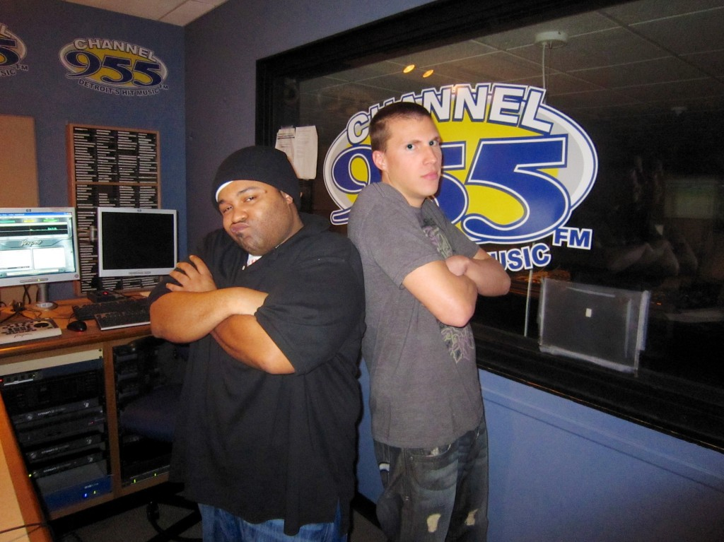 DJ X-Change and Buda at Channel 955 Radio Interview 2011 10