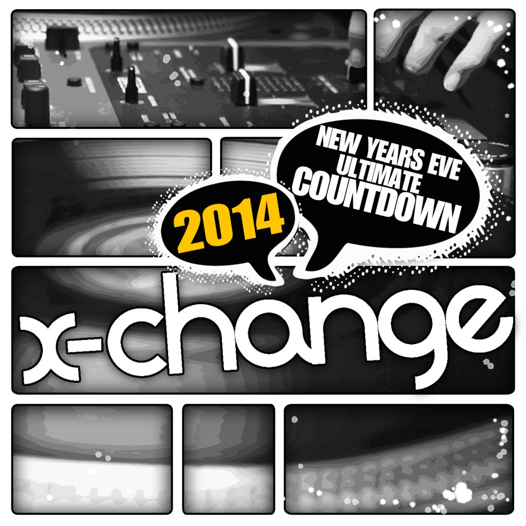 DJ X-Change - New Years Eve Ultimate Countdown 2014 Artwork