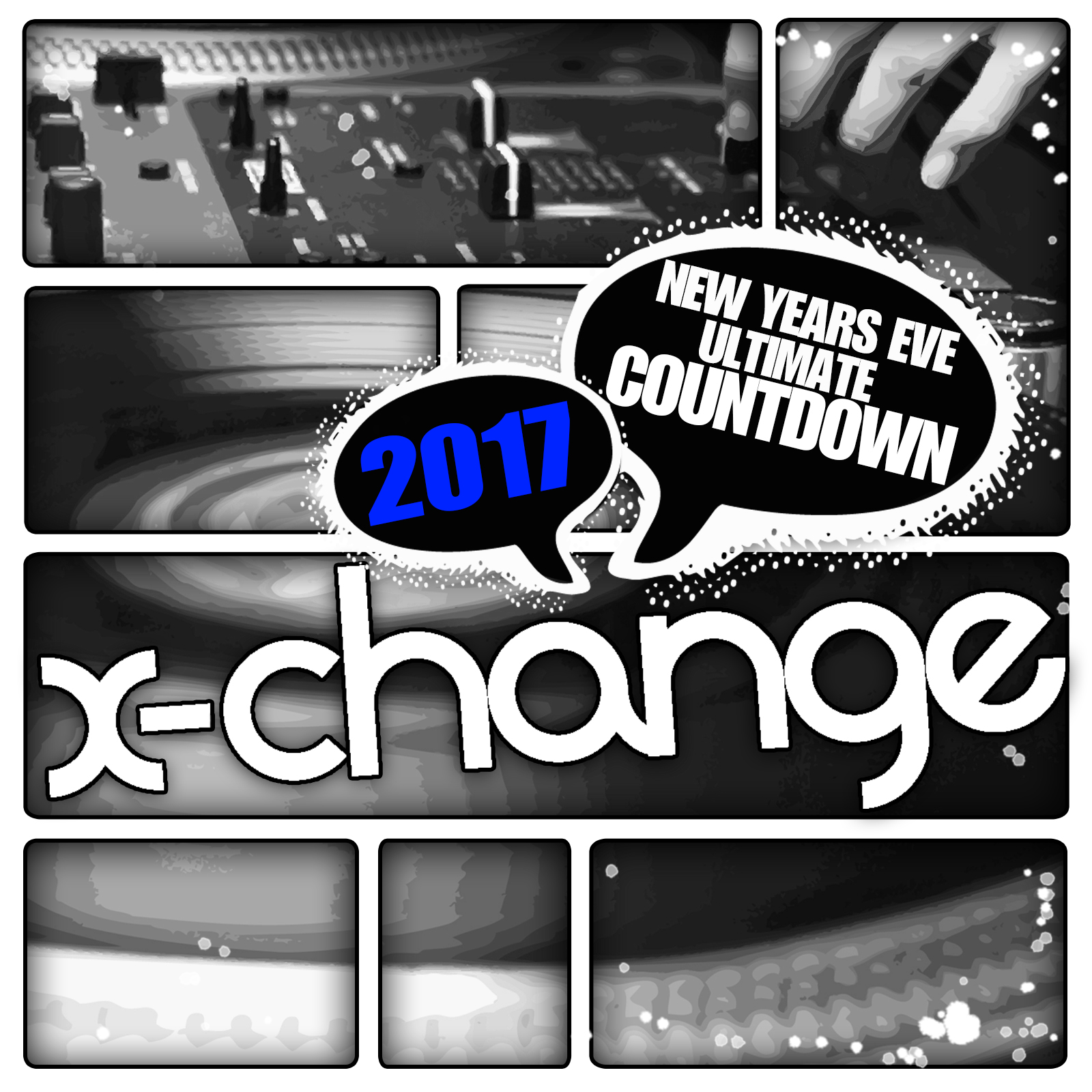 DJ X-Change - New Years Eve Ultimate Countdown 2017 Artwork