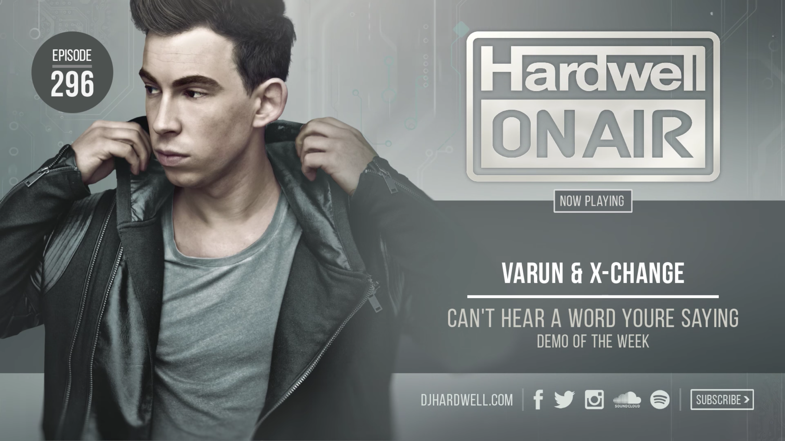 Hardwell On Air 296 Varun X-Change Track