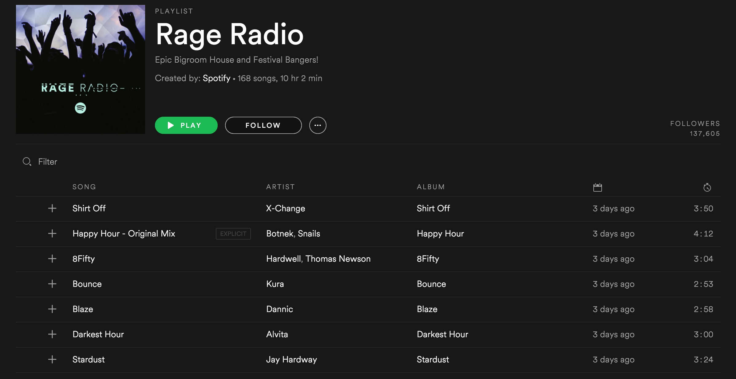 Screenshot 2016-06-16 09.27.11 Shirt Off Spotify Rage Radio